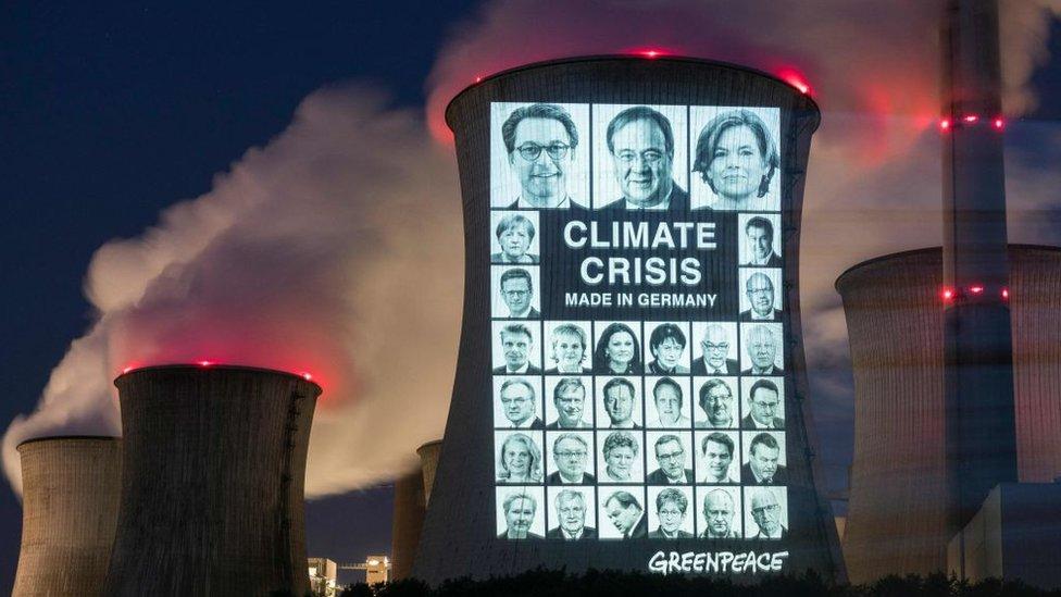 """Угольные электростанции в Европе доживают последние дни. Протест """"Гринпис"""" в Германии"""