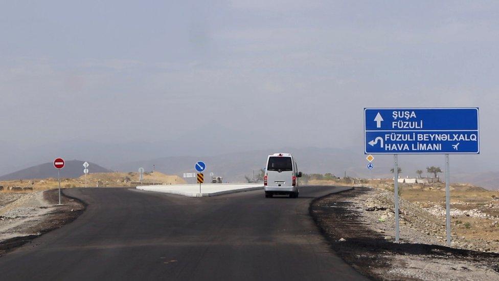 дорога в Шушу