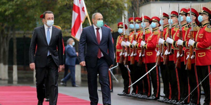 gharibashvili pashinyan 32 #новости Грузия-Армения, Ираклий Гарибашвили, Никол Пашинян