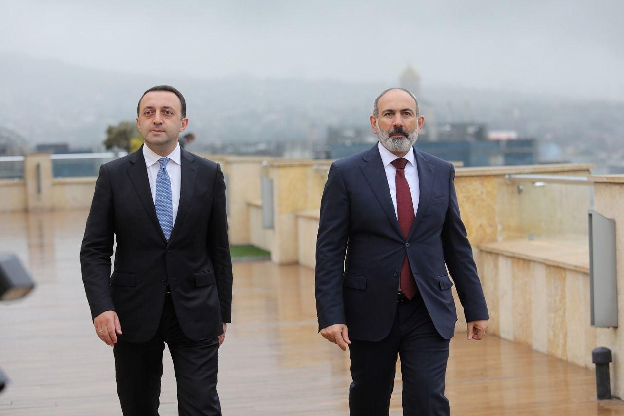 gharibashvili pashinyan 326 #новости Грузия-Армения, Ираклий Гарибашвили, Никол Пашинян