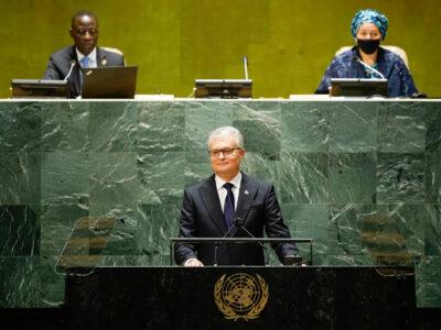 gitanas nauseda 2 #новости Абхазия, Генассамблея ООН, Гитанас Науседа, Грузия-Литва, Грузия-Россия, Южная Осетия