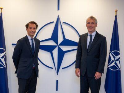 javier colomina jens stoltenberg #новости Груия-НАТО, Мака Бочоришвили, НАТО, Хавьер Коломина