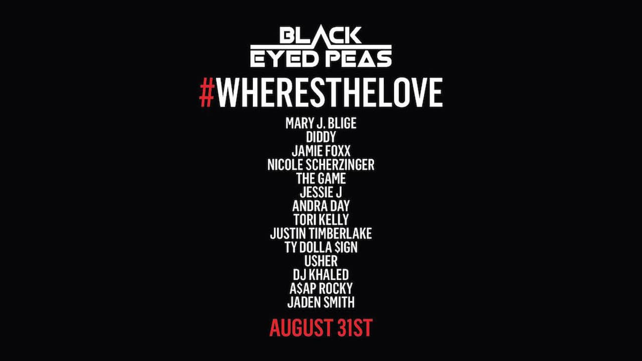 black eyed peas - where is the love 2016