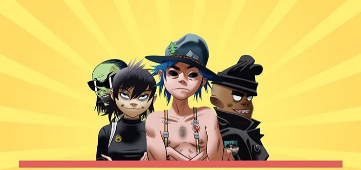 Gorillaz fire Flies
