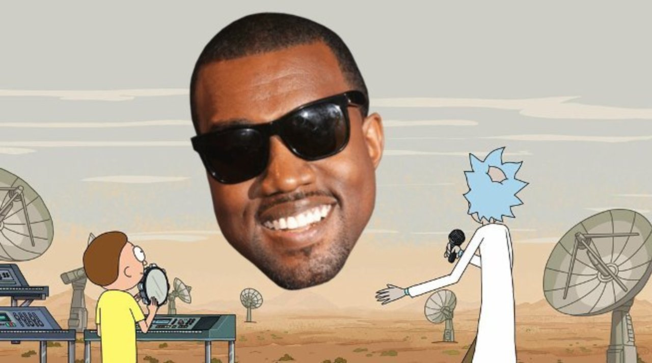 kanye west rick and morty