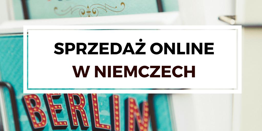 Sprzedaż online w Niemczech
