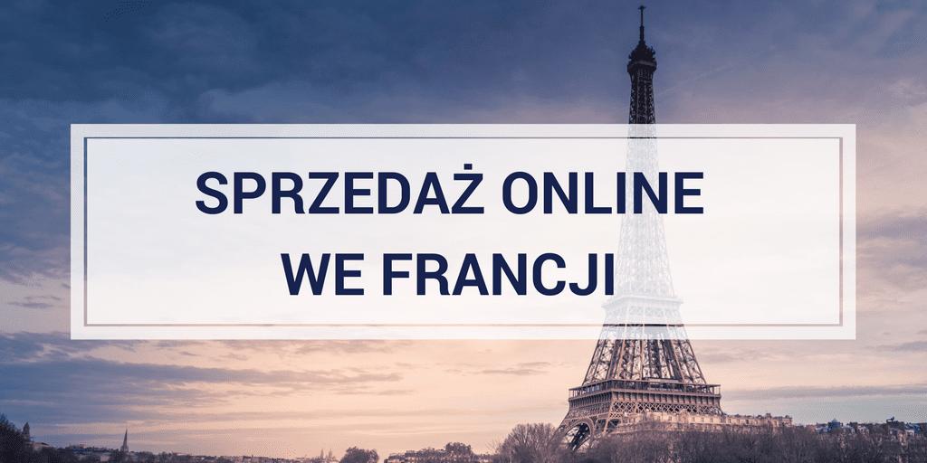 Sprzedaż online we Francji