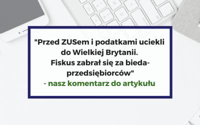 Komentarz do artykułu opublikowanego na wp.pl