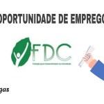 Vagas de emprego na FDC