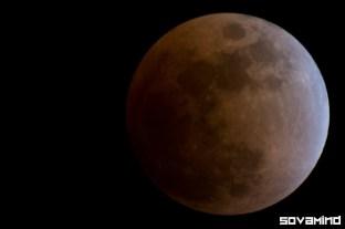 Lunar Eclipse 2008, Oregon.