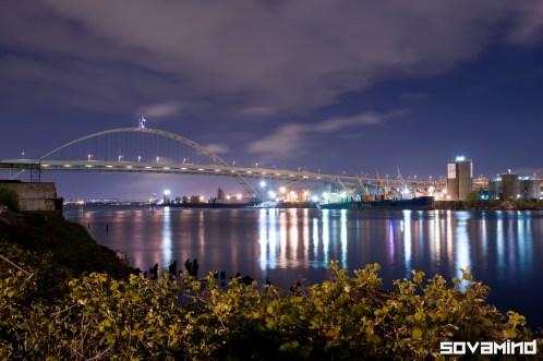 Fremont Bridge, Portland, Oregon.