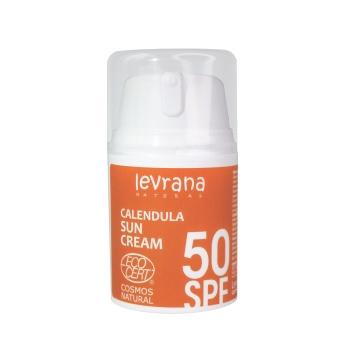 Солнцезащитный крем для лица и тела Календула, SPF50, 50 мл. Levrana
