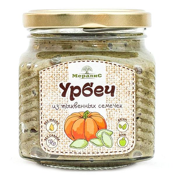 """Урбеч из тыквенных семечек """"Мералис"""""""