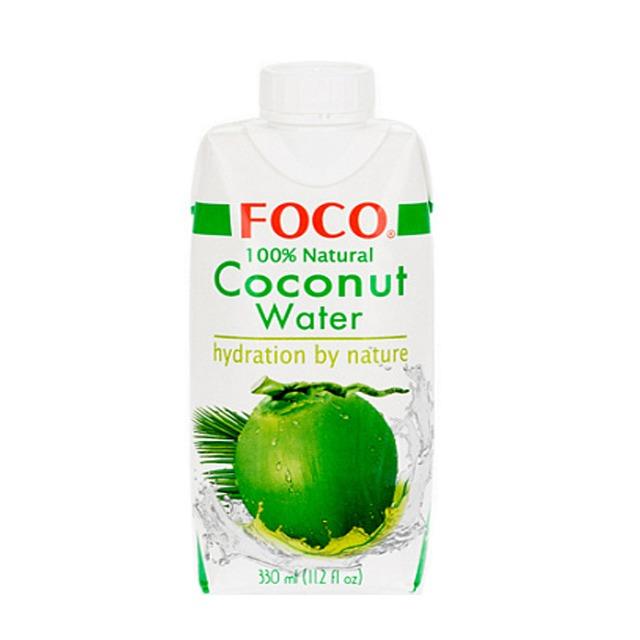 Кокосовая вода FOCO 100% без сахара