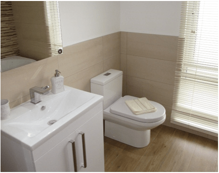 The Meadow Wood - Park Home interior photo of luxury bathroom