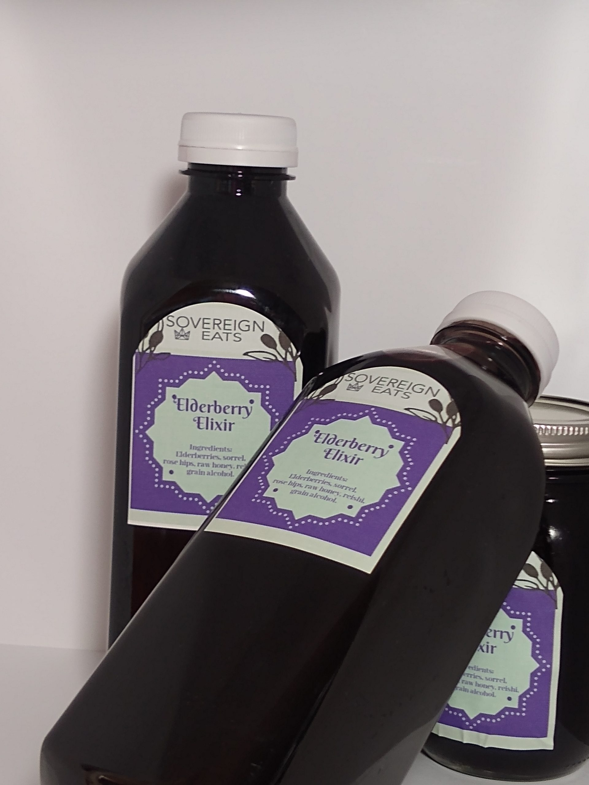 This is our immune boosting product Elderberry Elixir