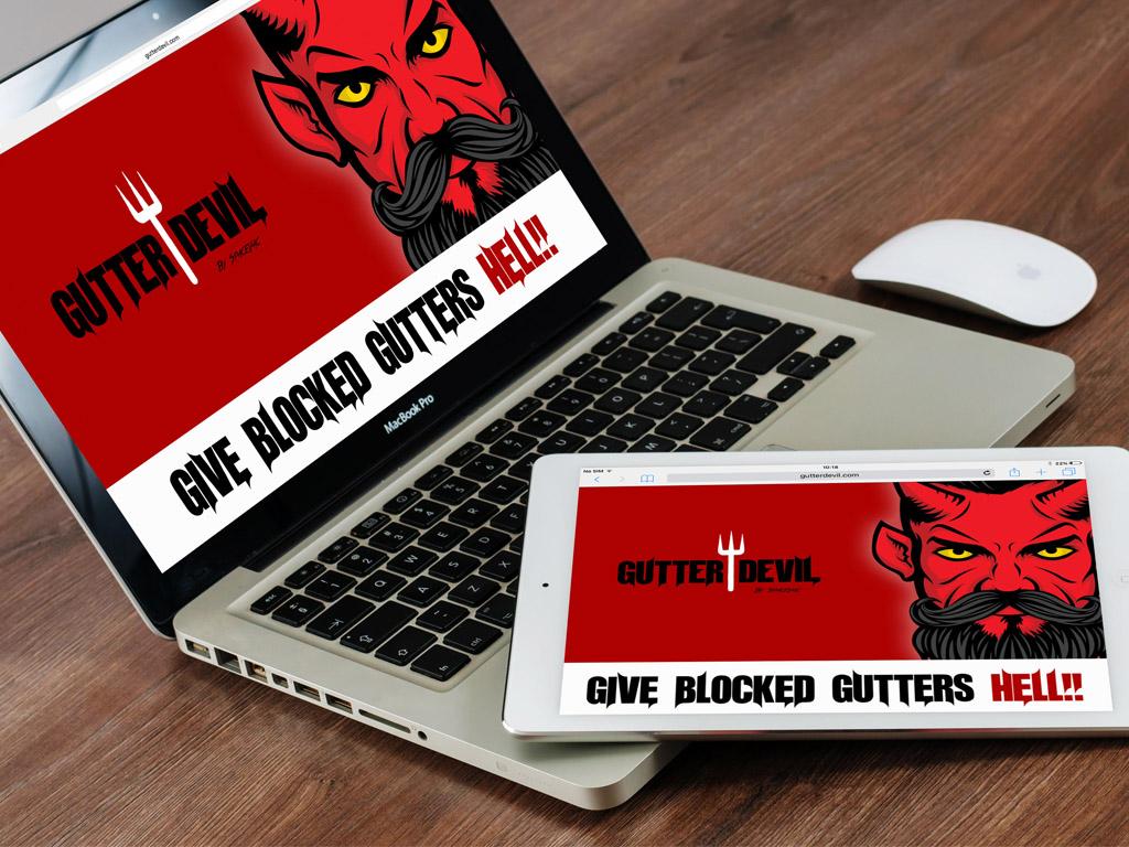 Website Design for Gutter Devil
