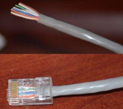Conector Conector RJ-45