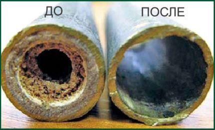 Curățarea conductelor hidraulice