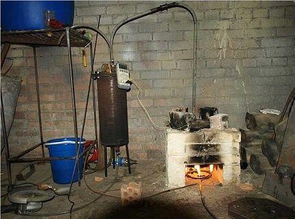 Fűtött szubsztrátum Bioreaktorban