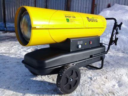 Conducta de căldură a companiei Ballu.
