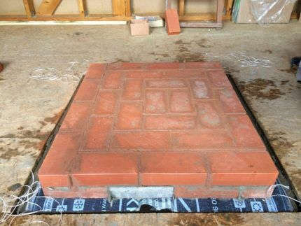 Waterproofing Foundation bago Masonry Furnace.