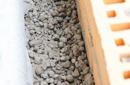 Керамзит для утепления стен