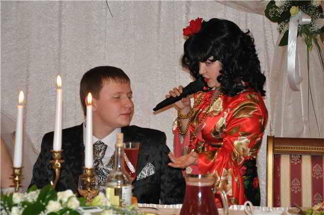 поздравление с юбилеем в роли цыганки депутат