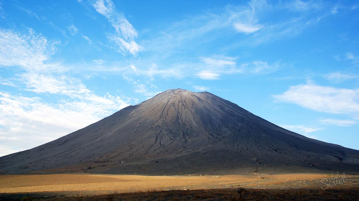Самые знаменитые вулканы мира