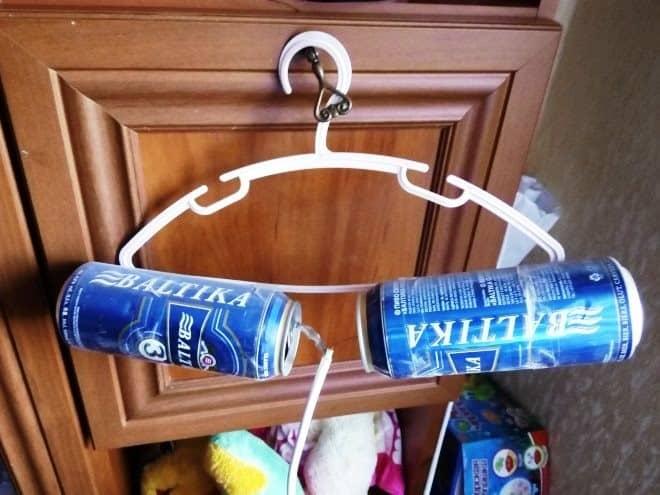 Кабель и держатель для антенны   Как сделать антенну из пивных банок