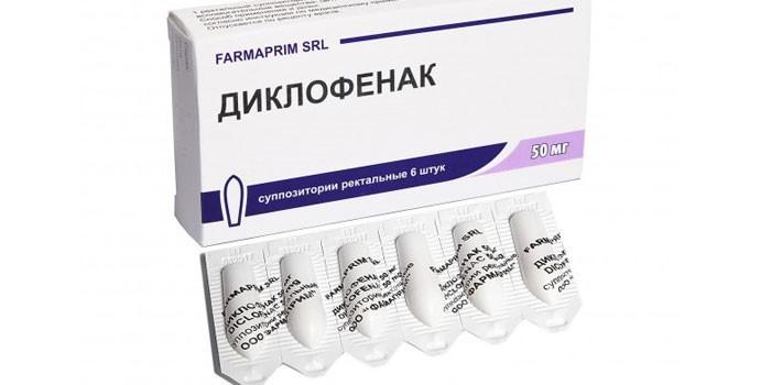 Diclofenac gyertyák prosztata áron)