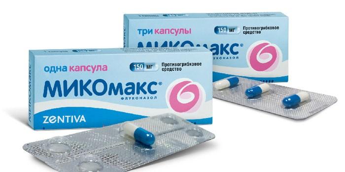 Как принимать флуконазол с антибиотиками