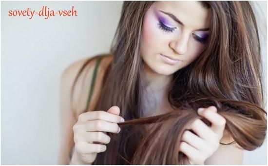 техника расчесывания длинных волос