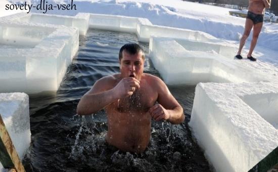 советы для тех, кто планирует купаться в проруби