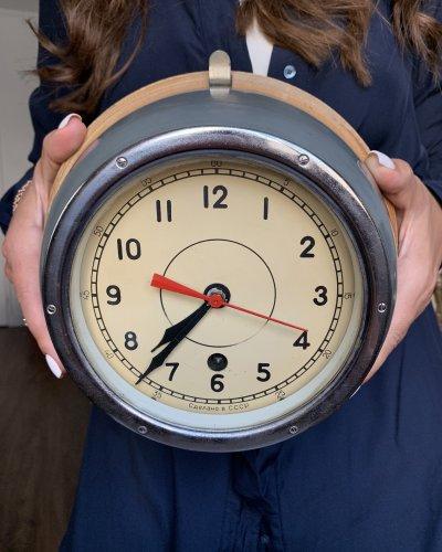 Horloge Marine URSS – 1971 – Aluminium