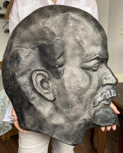 Plaque Usine Soviétique – Lenine – Bas Relief