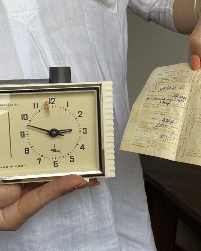 Horloge Échec – URSS – 1991 – Yantar – Ambre