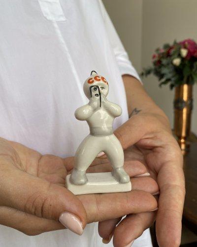 Porcelaine Cosmonaute Photographe – URSS