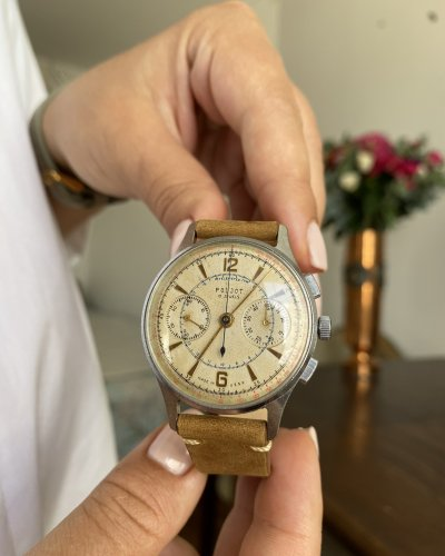 Montre Strela 3017 – Cosmonaute URSS – Chronographe