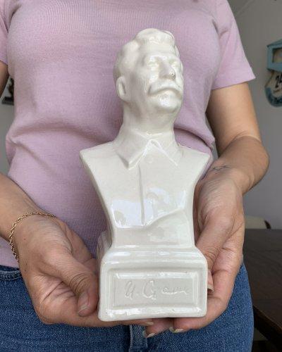 Buste Staline Porcelaine – Années 50