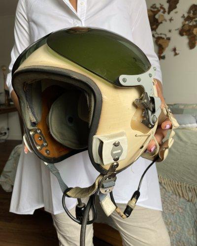 Casque Pilote Soviétique – ZSH-5 – Excellent état