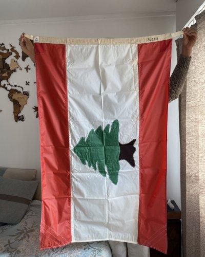 Drapeau Authentique – Navire – Liban