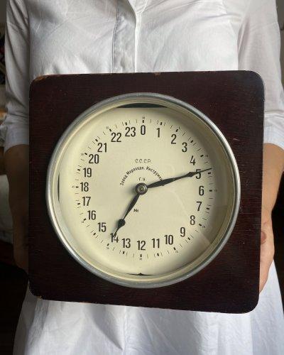 Horloge de navire – 24 Heures – Sous Marin Diesel – Expérimentale