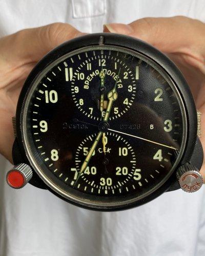 Horloge de Cockpit Soviétique – numéro 07426