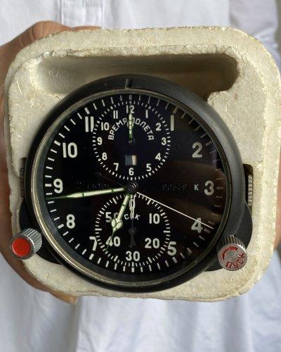 Horloge de Cockpit Soviétique – Neuve – numéro 90539