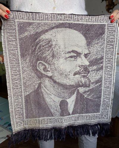 Tapisserie Propagande Lénine