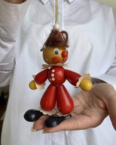 Jouet – Divers – Années 60 – Figurine Soviétique – Arbre Noël