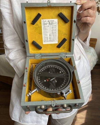 Rare Inclinomètre de Navire – 1985 – KSH