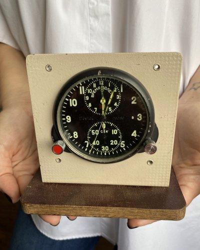 Horloge cockpit Achs-1 – MIG – Bakélite