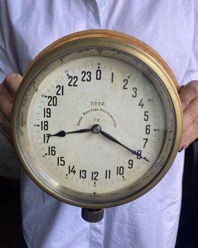 Horloge Militaire Marine Soviétique – Léningrad – 24 Heures – 1934